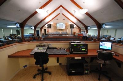 Baptist church sound upgrade